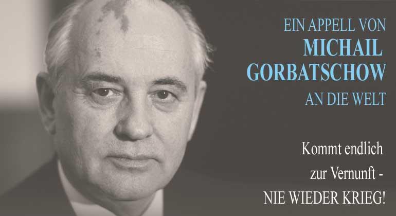 Gorbatschow_Appell
